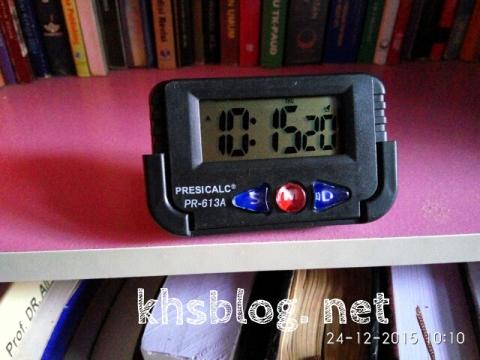 jam digital alternatif Presicalc PR-613A