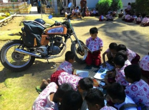 Motor Pustaka dari Polewali Mandar Sulawesi Barat