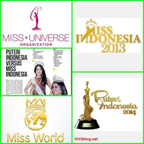 Perbedaan dan Persamaan Miss World, Miss Universe, Miss Indonesia dan Putri Indonesia
