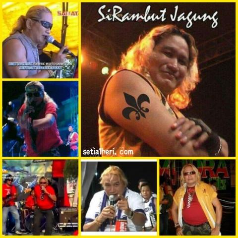 Budi Sadewo alias Si Rambut Jagung meninggal dunia 31 Desember 2015 di Alun-Alun Ponorogo bersama OM Sonata