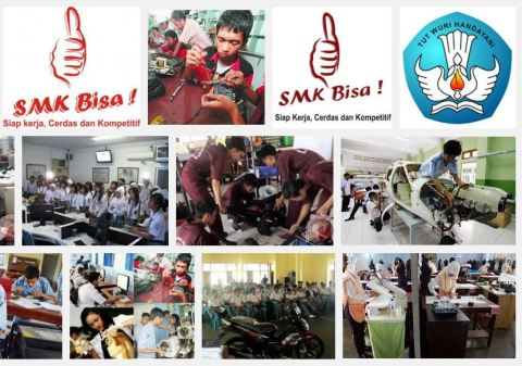 Daftar SMK Terbaik se Indonesia tahun 2015 versi Kemendikbud
