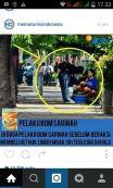 foto meme teroris afif alias sunakim sedang beli gethuk lindri