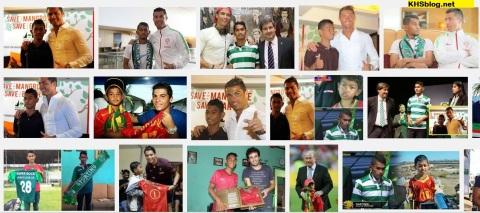 Martunis dan Cristiano Ronaldo