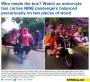 Video orang indonesia naik motor dengan 9 penumpang ini membuat terkenal hingga diliput dailymail