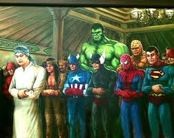superhero sholat jamaah