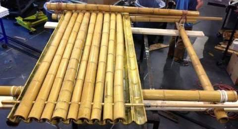 cara membuat atap rumah dari pohon bambu~01