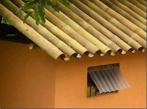 cara membuat atap rumah dari pohon bambu~03