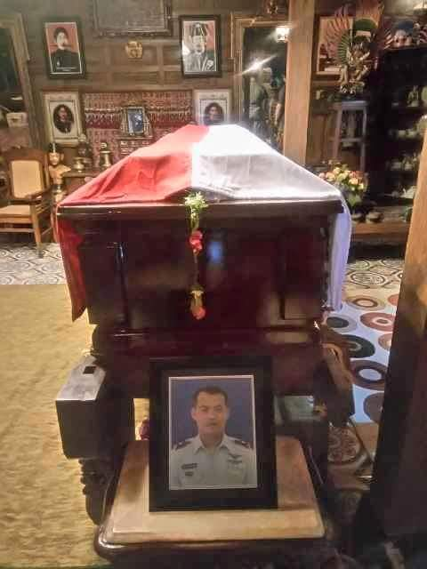 jenazah mayor pnb ivy safatila siap dimakamkan 11 Pebruari 2016
