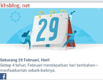 mitos tanggal 29 Pebruari