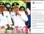 Foto Pasha Ungu merokok dengan memakai baju dinas Wakil Walikota Palu, Sulawesi Tengah ini menuaikontroversi