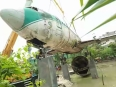 proses pemasangan pesawat bouraq di ponpes sunan drajat 2016