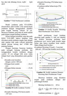 Analisa Fakultas Teknik Sipil Universitas Brawijaya terkait Jembatan Soekarno Hatta Malang pada tahun 2013 hal 6
