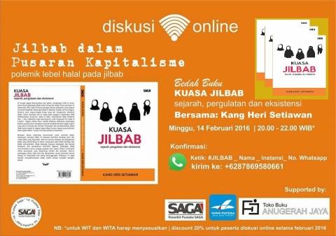 bedah buku jilbab dalam pusaran kapitalisme oleh kang heri setiawan dari sosiologi universitas airlangga