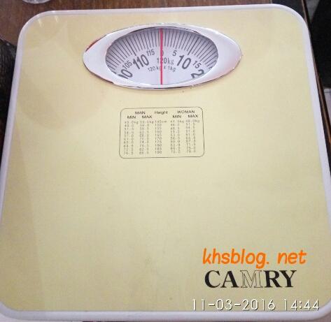 contoh timbangan berat badan merk camry