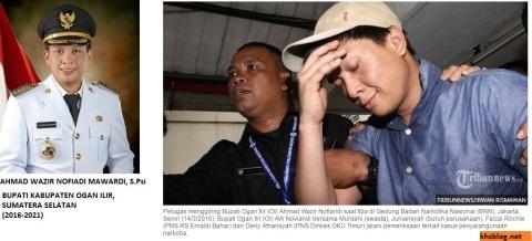 Mengintip profil Bupati Ogan Ilir (OI), Sumatera Selatan, AW Nofiadi yang ditangkap BNN karena dugaan penggunaan narkoba