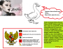 Menurut Zaskia Gotik, lambang sila kelima Pancasila adalah Bebek Nungging…#koplak (niat bercanda tapi malah hina simbolnegara)