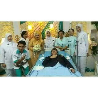 pernikahan romantis di RSUP Dr. Sardjito, Yogyakarta Mbak Dias dan Mas Windu 12 Maret 2016