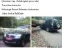 Innalillahi…pohon besar tumbang menimpa mobil dinas camat Sembalun, Lombok Timur, NTB membawa korbanjiwa