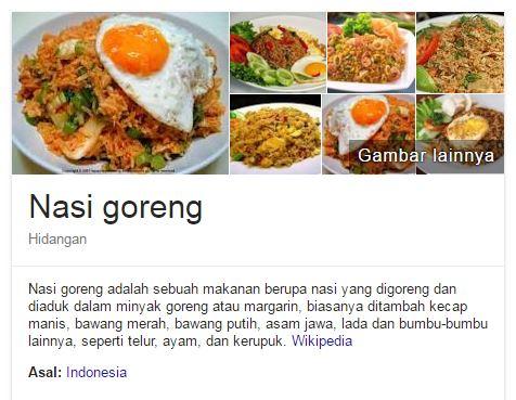 apa itu nasi goreng