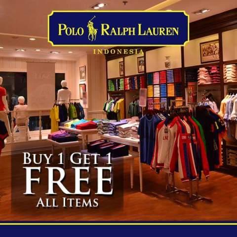 heboh voucher diskon Rp.200.000 Polo Ralph Lauren Indonesia