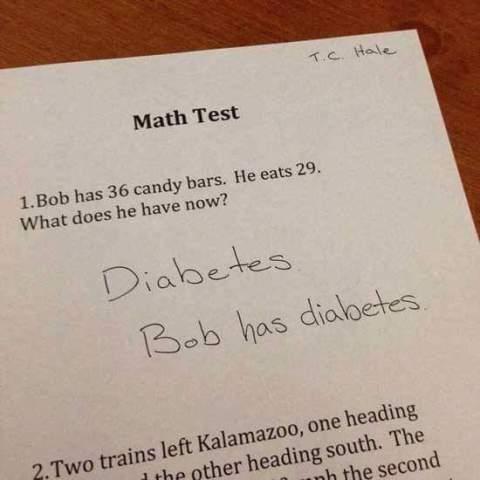 jawaban soal ujian yang bikin tersenyum minimal atau terbahak-bahak maksimal~14