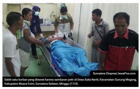 korban peti m pawi di dusun Talang Jernihan, Desa Bangun Sari, Kecamatan Gunung, Muara Enim, Sumatera Selatan