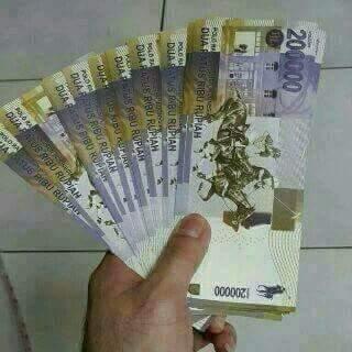 uang pecahan Rp.200.000 adalah hoax alias palsu