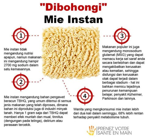 bahaya mie instan bagi tubuh