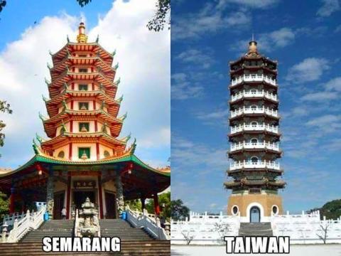 Foto suasana mirip antara di Indonesia dengan di Luar Negeri (4)