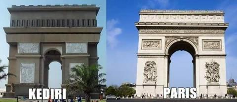 Foto suasana mirip antara di Indonesia dengan di Luar Negeri (9)