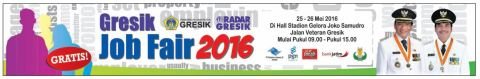 gresik job fair 2016