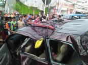 kecelakaan 3 terduga perampok tewas di paciran lamongan hari rabu 11 mei 2016 (7)