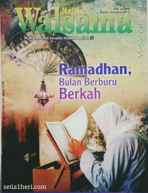 Bulan Ramadhan berburu berkah
