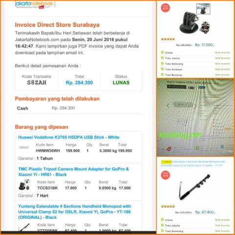 pengalaman blogger KHS belanja online Jakartanotebook toko surabaya Juni 2016~03