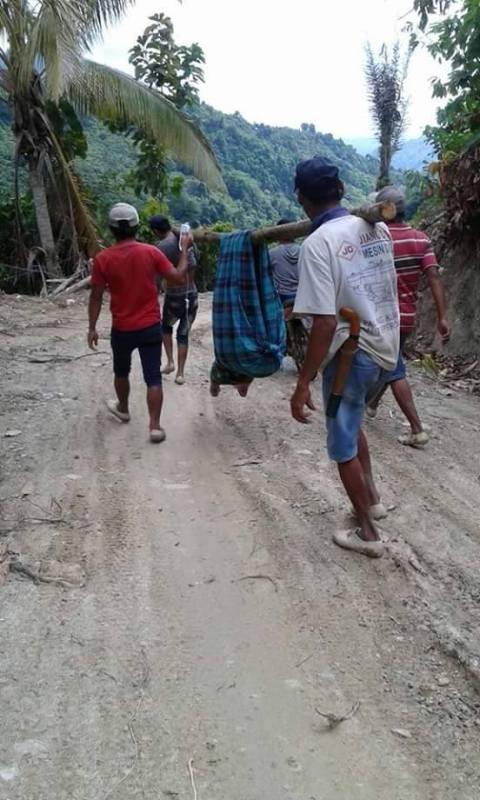 Perjuangan ibu melahirkan Dusun 6 Desa Parutellang, Kecamatan Ngapa, Kabupaten Kolaka Utara, Sulawesi Tenggara