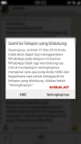 Hiks…dapat notifikasi sekaligus reminder bahwa WhatsApp (WA) tidak support lagi Blackberry Z3 (BB OS 10) pasca akhir tahun2016
