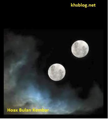 hoax bulan kembar dengan planet mars tahun 2016