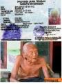 Mbah Gotho, lelaki umur 145 tahun asal Sragen, Jawa Tengah ini diduga manusia tertua didunia