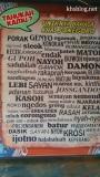 Kosa Kata Basa Jenegoroan, Jawa Timurgans