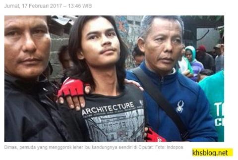 pemuda-bunuh-ibu-kandung-di-ciputat-tahun-2017