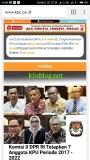 Daftar anggota KPU dan Bawaslu periode 2017 –2022