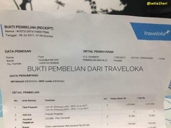 beli tiket lion air via traveloka yang bermasalah di makasar 9 juli 2017