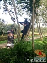 Sun Indonesia Real Action Adventure 2 tahun 2017 melawan Zombie bersama blogger (7)