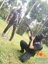 Sun Indonesia Real Action Adventure 2 tahun 2017 melawan Zombie bersama blogger (9)