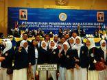 mahasiswa media dan komunikasi unair 2017 saat pengukuhan maba di airlanga convention centre (4)