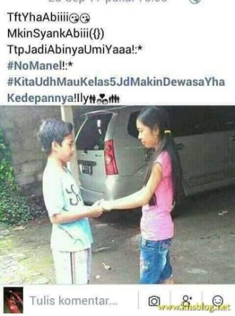 gaya pacaran anak SD jaman sekarang tahun 2017 (14)