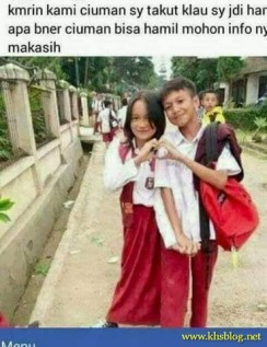 gaya pacaran anak SD jaman sekarang tahun 2017 (9)