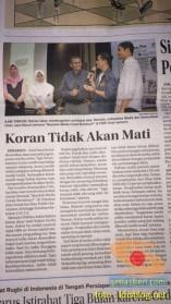 Kuliah Tamu di fisip unair 2017 bersama Dahlan Iskan dengan tema Akankah koran cetak bertahan (1)