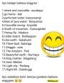 Daftar singkatan dalam Bahasa Inggriss untuk chating ataumedsos