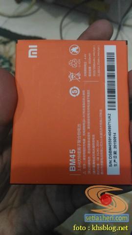 Pengalaman ganti baterai Xiaomi RedMi Note 2 brosis (2)